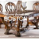 میز نهارخوری کلاسیک مبلمان بوستون