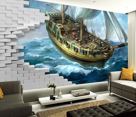 انتخاب کاغذ دیواری مناسب برای خانه شما (۲)