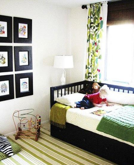 تخت های کشو دار بهترین گزینه برای دکوراسیون خانه های اجاره ای کوچک محسوب می شود