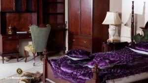 تخت خواب، کمد لباس و ویترین
