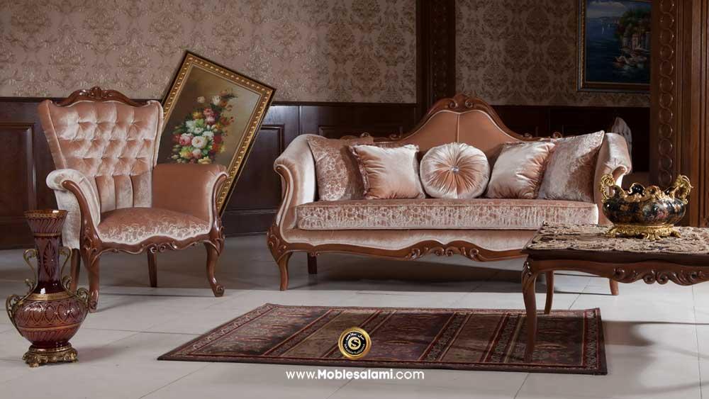 کاناپه و مبل تک ویال