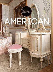 آینه و کنسول آمریکایی
