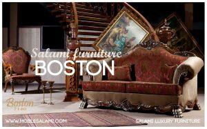 کاناپه کلاسیک مبلمان بوستون