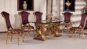 میز و صندلی ناهارخوری انگلیسی