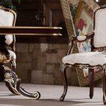 میز و صندلی غذاخوری فرانسوی