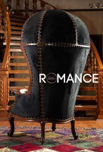 مبل کلبه ای رومنس با پوست گاو