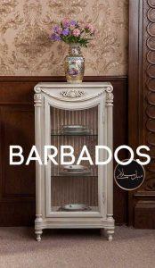 ویترین بغل مبلی باربادوس