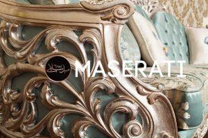 جزئیات منبت و رنگ کاناپه مبل مازراتی