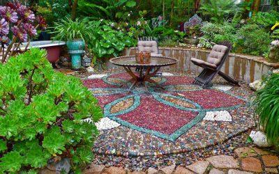 سنگ فرش معجزه ای برای دکوراسیون فضای خارجی