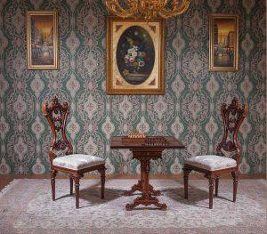 میز و صندلی شطرنج و تخته نرد