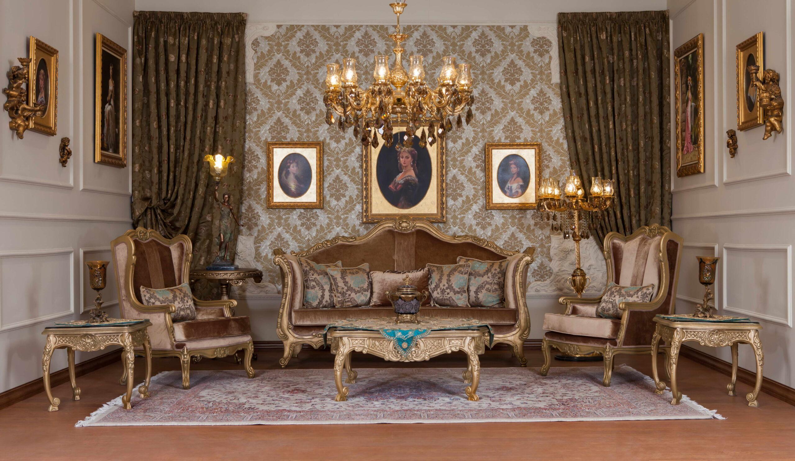 فضای مناسب برای مبل های کلاسیک